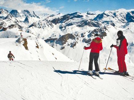 Ski in Europe