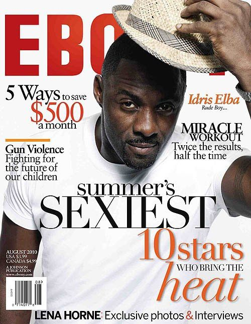 Idris Elba is a rude boy?