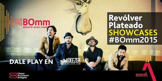 ¡Últimos dos Showcases del #BOmm2015! El pop rock también estará presente con @Revolverplatead.