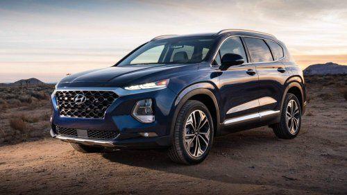 Us Spec 2019 Hyundai Santa Fe Looks Better Than Ever Gains 190 Hp 2 2l Diesel Hyundai Santa Fe New Hyundai Hyundai Cars