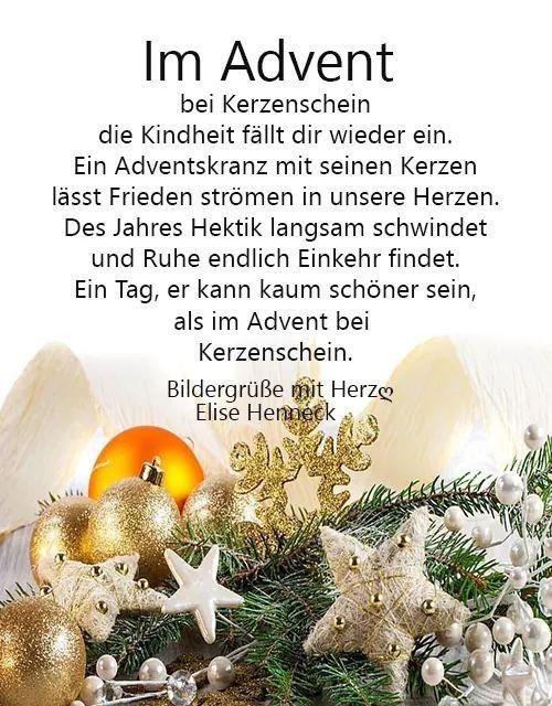 Pin Von Elke Willms Auf Advent Weihnachtswunsche Schone Bescherung Adventswunsche