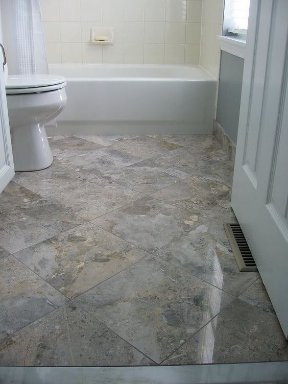 Diagonal Tile Bathroom Floor Use The Measureright Pro To