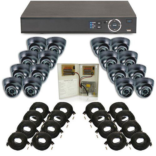 Complete Surveillance Camera System - 16 Channel Elite Mini Economy Security Camera Surveillance Package by Security Camera. $1437.77. This system includes everything you will need to install this 16 Channel Elite Mini Economy Series Surveillance System. This system doesn't come with a VGA monitor, although you will need a monitor during the initial install of the system, once the install is complete the monitor can be removed, as it's not required for normal opera...