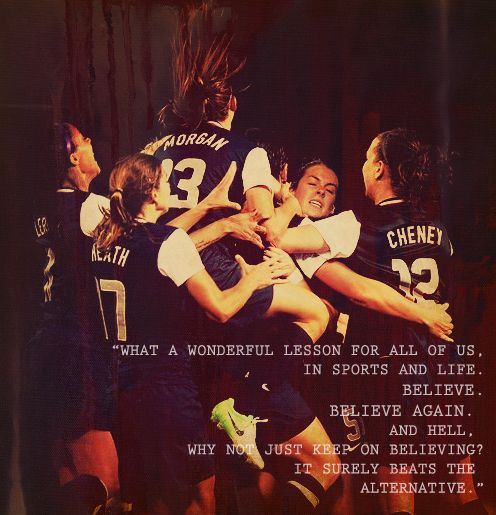 Please excuse the language, But this is so true... well said Julie Foudy.