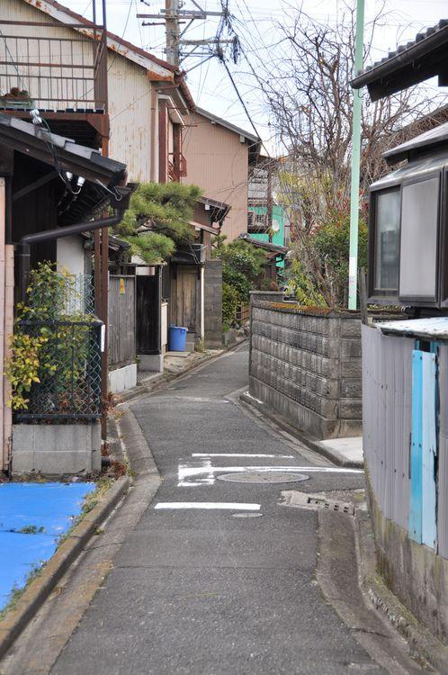 Japanese neighbourhood street