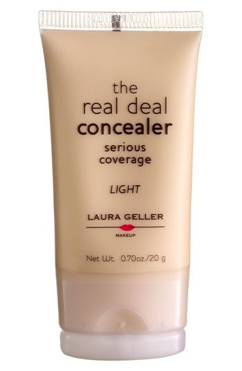 Laura Geller Beauty 'Real Deal' Concealer available at Ulta and Nordstrom! This stuff is AMAZING! Make sure to get the lightest color they have!
