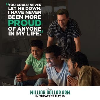 Disney World Enthusiast: Movie Review - Million Dollar Arm