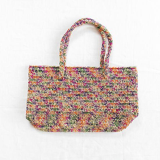 カラフルトートバッグ- 編み物キットオンラインショップ・イトコバコ