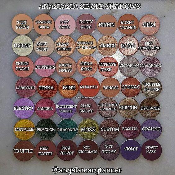 Anastasia Beverly Hills Eyeshadow Singles Ig Downloads