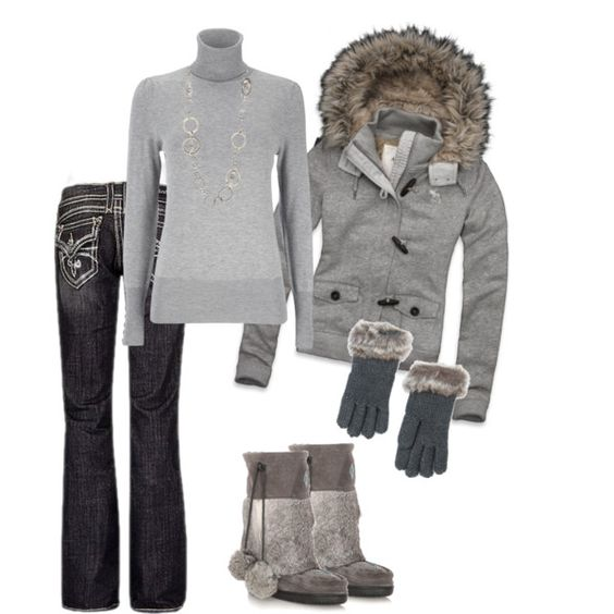 a touch of gray, created by daisy-weber on Polyvore