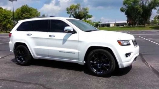 Image For Best White Jeep Grand Cherokee Black Rims Suv White