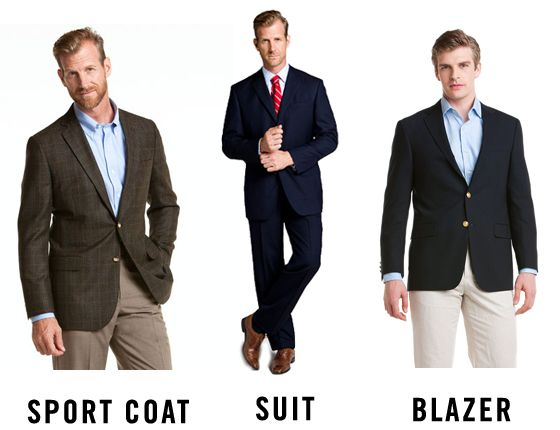 Sport Coat vs. Suit vs. Blazer - I've been wanting to know the ...