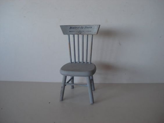 Miniature chair by cinen on Etsy, $10.60