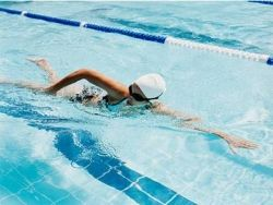 Swimming Exercises -    It has been shown that swimming excersises harmoniously developed human body. In other words, increases muscle mass, muscles become more powerful...