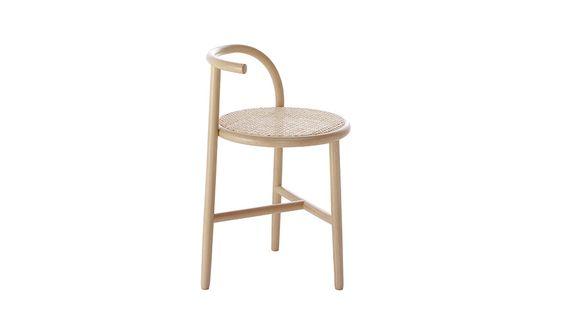 MONOQI   Curve Stuhl - Zuckerrohr