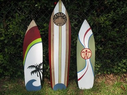 surfboard wall art - Google Search