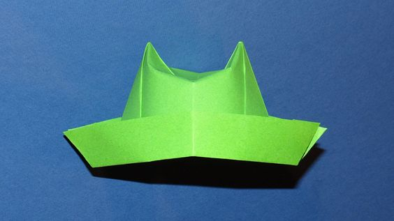 origami hat top hats and origami on pinterest