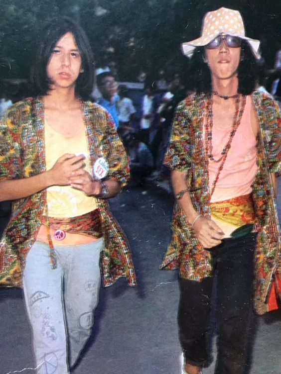 japanese hippies'70~1971.