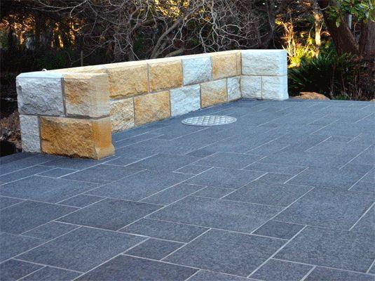 Mali Bluestone Tiles Outdoor Pavers Bellstone Mali Bluestone