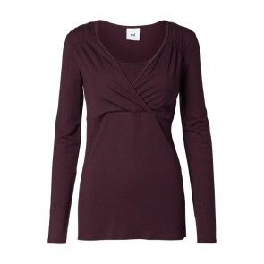 Mamalicious Savoy Tess Long Sleeve Nursing Top  In 2 autumnal colours - perfect for Breastfeeding Mums.  £19.50 with free UK delivery and low cost to Europe.