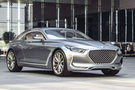 """Hyundai's """"Vision G"""" Coupe Concept took a bow at the 2016 Chicago Auto Show…"""