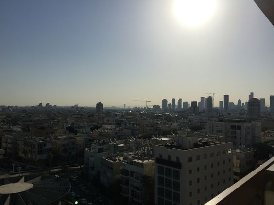 Morning sunrise in Tel Aviv, Israel!