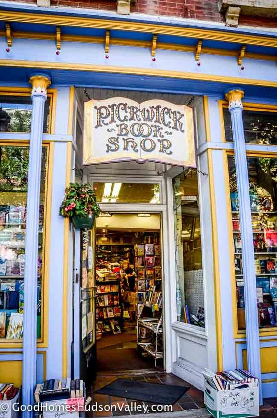 The Pickwick Book Shop, used bookstore in Nyack, New York