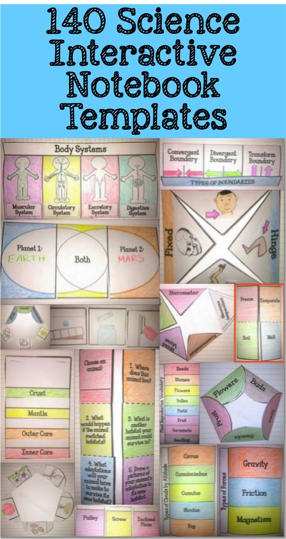 The ULTIMATE Science Interactive Notebook Pack! 140 Flip Books! $