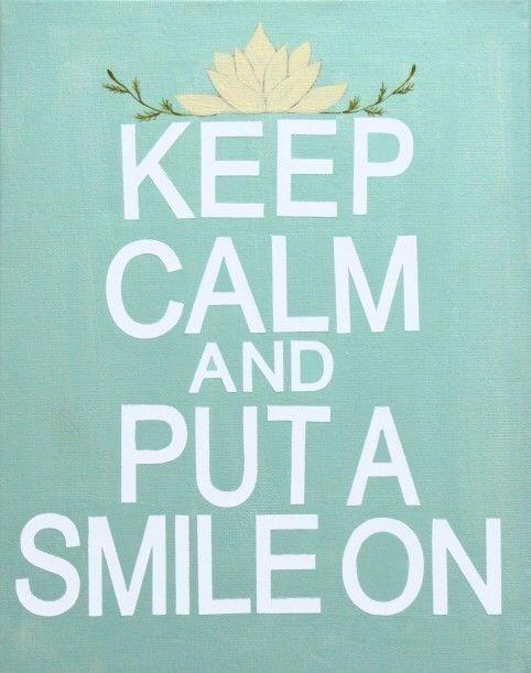Put a smile on