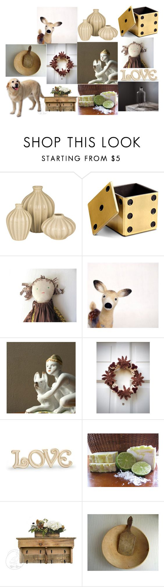 """Home"" by talma-vardi on Polyvore featuring interior, interiors, interior design, home, home decor, interior decorating, Broste Copenhagen, L'Objet and Lenox"