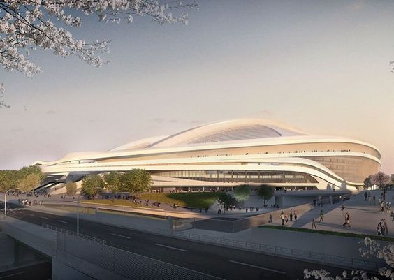 ZHA's competition-winning design for Tokyo Stadium adopted a sophisticated shell structure drawing on longstanding research.