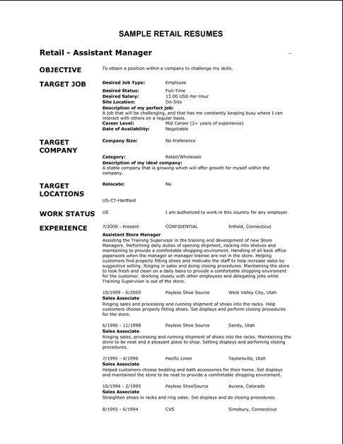 Http://Resume.Ansurc.Com/Basic-Resume-Examples/ | Basic Resume