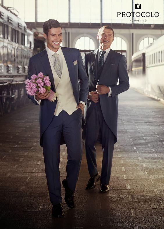 Protocolo novios guia tipos de traje de novio - chaqué blog bodas mi boda gratis