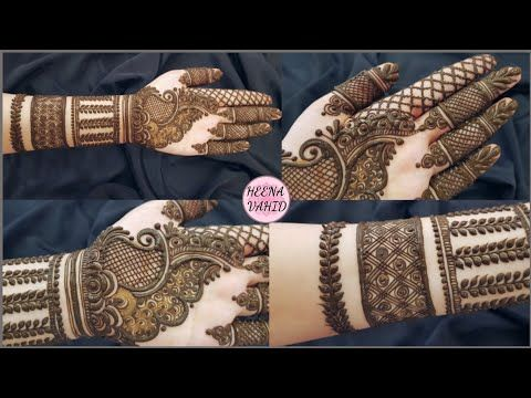 New Style Dubai Henna Design 2019 Unique Mehndi Design For Hand