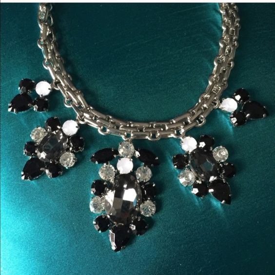 Listing for @sabinabruna T&J Design black & Silver necklace T&J Designs Jewelry Necklaces