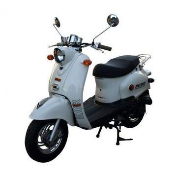 scooter retro 50 moto znen 49 cc rose prix promo rueducommerce ttc au lieu de 1. Black Bedroom Furniture Sets. Home Design Ideas
