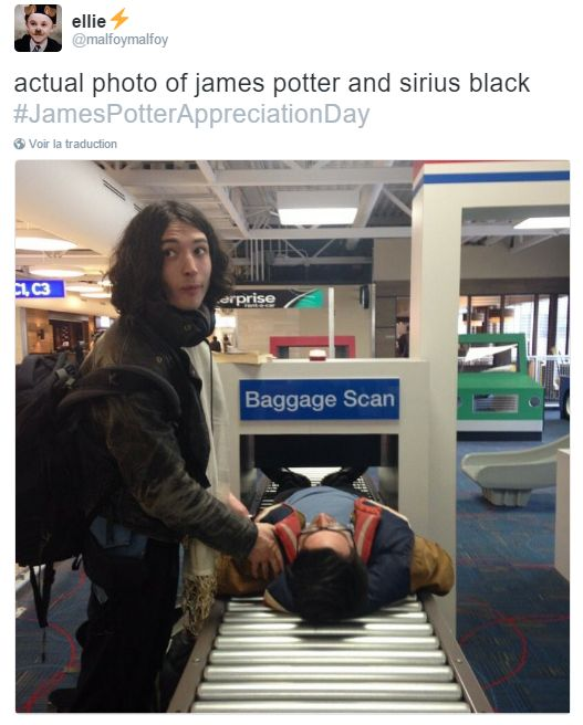 These guys are literally James Potter and Sirius Black!