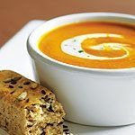Roasted Red Pepper and Sweet Potato Soup | Canadian Living