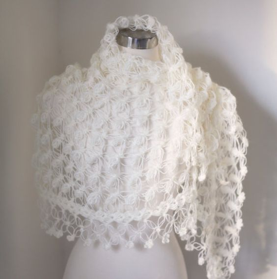 Crochet Lace Wedding Garter Pattern: Shawl, Wedding And Accessories On Pinterest