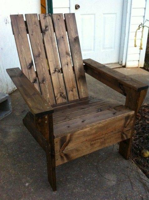 Pinterest the world s catalog of ideas - Patterns for adirondack chairs ...