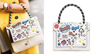 Bathurst Stickers Bag by Anya Hindmarch