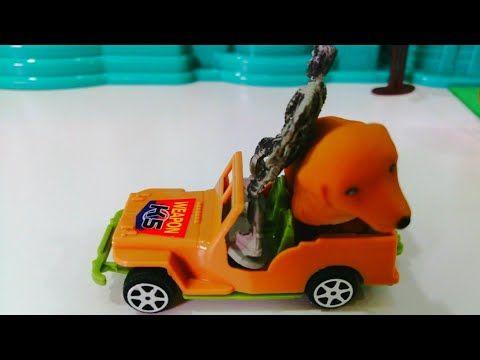 الحرامي خطف كلب لولو ياترى حصل ايه قصص اطفال عائلة عمر Youtube Toy Car Toys Car
