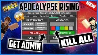 New Roblox Hack Apocalypse Rising Gui Steal Loot Spawn Items