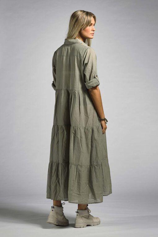 Klänning med lång ärm Ajlajk