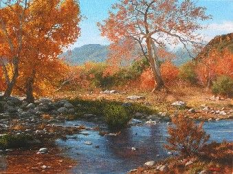 LIVING WATER   Landscape Painting By Mark Christopher Weber | Art    Landscapes | Pinterest | Living Water, Landscaping And Paintings