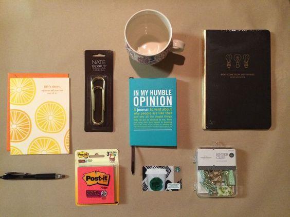 new job survival kit  http://thehungrybear.typepad.com/my-blog/2014/06/new-job-survival-kit.html