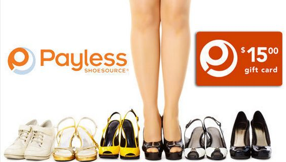 Payless Shoe Source Gift Cards 50% Off