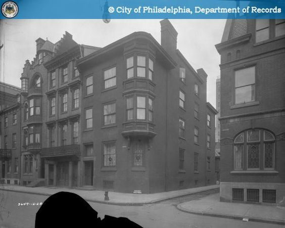 PhillyHistory.org - Perepctive of NW corner of Locust and Camac Sts