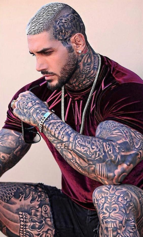 Männer sexy tattoo 35 Above