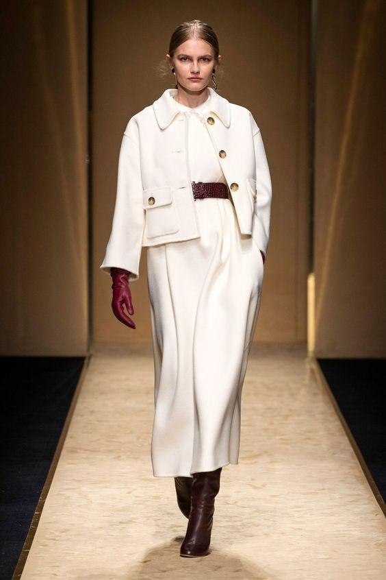 Luisa Spagnoli Prêt-À-Porter Automne-Hiver 2020-2021 - tendances mode, beauté, mannequins et inspirations